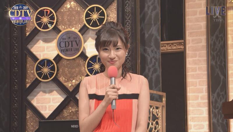 CDTVの伊東楓アナ!